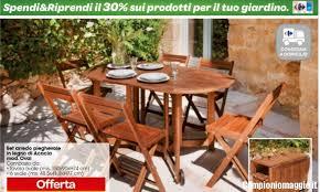 carrefour mobili da giardino carrefour spendi riprendi sui prodotti per il giardino