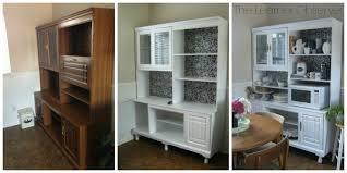 kitchen hutch ideas an 80 s wall unit into a kitchen hutch hometalk