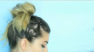 hairstyles for back to school short hair 5 easy back to school hairstyles short or long hair youtube
