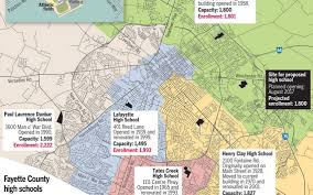 Lexington Ky Map Construction On A Sixth Lexington Public High Could Begin