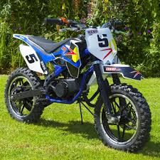 rebo yz50 mini dirt mini moto motorbike race bike blue amazon