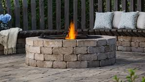 Corner Fire Pit by Outdoor Living By Belgard Ideas Tips U0026 How To U0027s For Outdoor