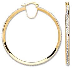 gold hoop earrings uk large gold hoop earrings