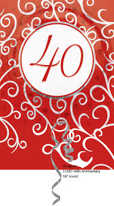40th anniversary gift ideas wedding world 40 wedding anniversary gift ideas