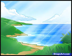 learn how to draw the ocean watermasses landmarks u0026 places free