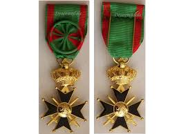 Us Army Decorations Belgium Ww2 Military Cross 1st Class Belgian Medal Decoration Wwii
