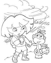 the explorer dora and boots are holding hands to not be taken