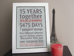 15 year anniversary ideas top 15 words memorable ideas for wedding anniversary gifts 15