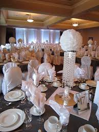 white sparkle wedding u2013 bling centerpieces with white rose flower