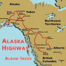 Alaska Highway Map al can highway alaska yukon b c alberta photo album by