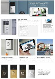 ring wireless video doorbell 88rg000fc100 the home depot