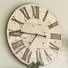 best 25 rustic wall clocks ideas on oversized rustic