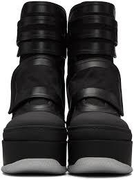 womens boots velcro marni goldberg md marni black velcro platform boots marni