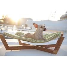 dog hammock in green pet accessories cuckooland