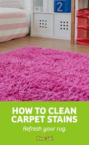 How To Clean An Area Rug How To Clean Carpet Stains Pine Sol