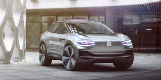 volkswagen ksa the volkswagen id crozz concept is a self driving electric suv