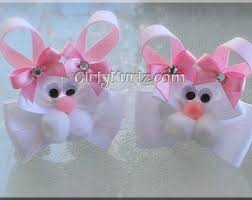 easter hair bows 105 best easter bows images on crowns hairbows and