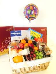 sympathy gift baskets free shipping get well soon baskets for men get well fruit survival for him
