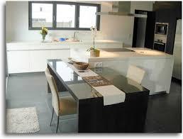 cuisine ouverte avec ilot table cuisine ouverte avec ilot table trendy cuisine ouverte avec
