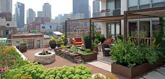 Roof Gardens Ideas Turning Your Roof Terrace Intro An Outdoor Garden Rooftop Garden