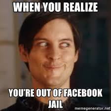 Meme Generator Facebook - when you realize you re out of facebook jail peter parker spider