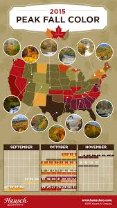 Foliage Map 2015 Peak Fall Colors U2013 Time For A Road Trip Hausch And Company