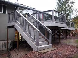 deck stair railing corner u2014 new decoration ideas to build a deck