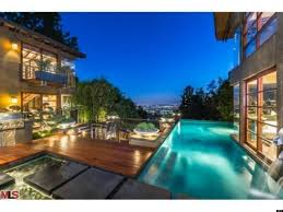 Houses In The Hills Calvin Harris U0027 House Nestled In The Hollywood Hills Boasts