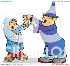 free halloween artwork royalty free rf clipart illustration of a halloween wizard