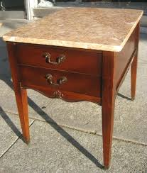 victorian marble top end table marble top end tables coaster company green marble high top cherry