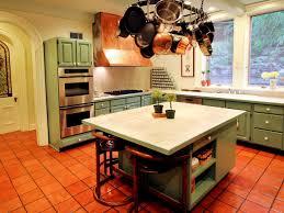 Kitchen Floor Ideas Green Kitchen Cabinets Bringing Wonderful Natural Touch Ruchi