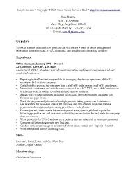 Sample Resume With Picture by Sample Objective For Resume Berathen Com