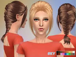 mhaircuta to give an earthy style sims 4 hairstyles maysims 134 solids at miss paraply 187 sims 4