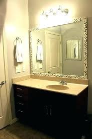framed bathroom mirrors ideas 36 60 framed mirror elrincondemama co