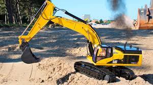 big truck crane u0026 jcb excavator construction trucks for kids