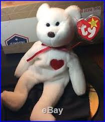 ty valentino beanie babies ty valentino collectible retired d o b