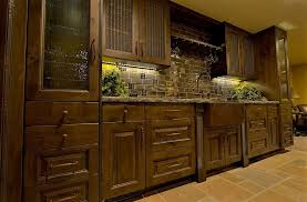 Rustic Hardware For Kitchen Cabinets Kitchen Stunning Rustic Kitchen Cabinet Ideas With Brick