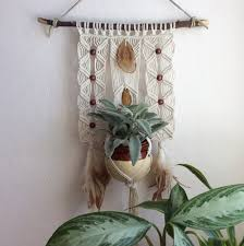 agate home decor image of no 3 macrame plant holder hanging agate home decor