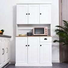 kitchen pantry storage cabinet microwave oven stand with storage dizon 73 kitchen pantry pantry storage cabinet
