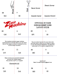 Zine Template by Zines A Modern On The Move Page 3