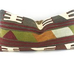 Lumbar Decorative Pillows Lumbar Throw Pillow Etsy