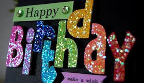 festive homemade birthday cards