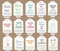 51 best wedding favor tags images on wedding favor