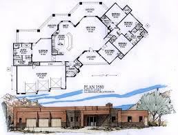 House Plans Rambler 2500 To 4000 Sq Ft Taron Design Inc Log Home Plans Endearing House