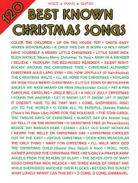 120 best known christmas songs piano vocal guitar alfred music