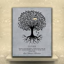 fathers day personalized gifts gift for family tree roots thank you for being everything