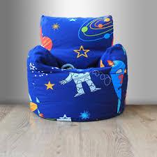 children u0027s beanbag chair space boy planet rocket kids bedroom