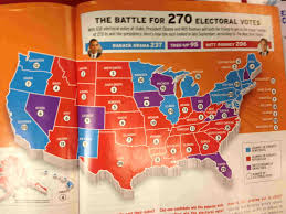 Nytimes Election Map by Electoral College 101