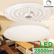round 40w led ceiling light fixture l bedroom kitchen le 40w dimmable warm white 19 3 inch led ceiling lights 225w
