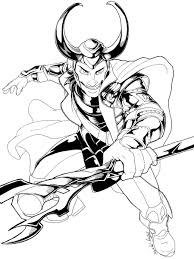 avengers loki coloring page at avengers coloring page on with hd